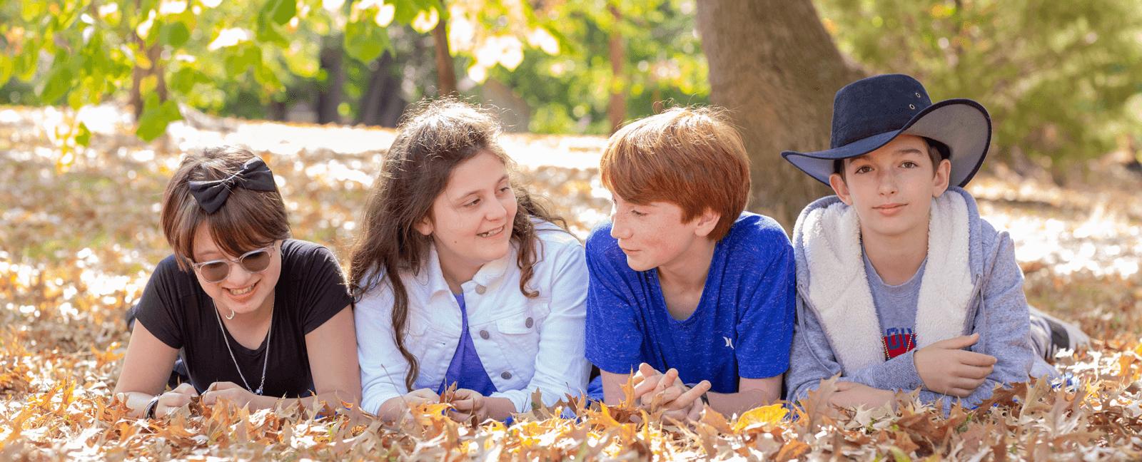 Students at The Sycamore School in Arlington Virginia